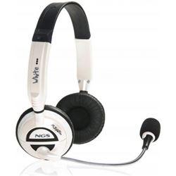 Auriculares micro y control volumen ngs blancos