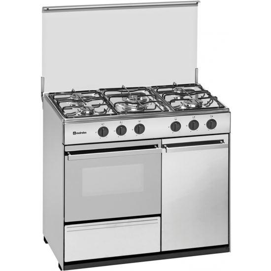 Cocina conv. Meireles G2950DVXBUT, 5 fuegos, but