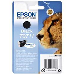 CARTUCHO TINTA EPSON T0711 NEGRO 7.4 ML