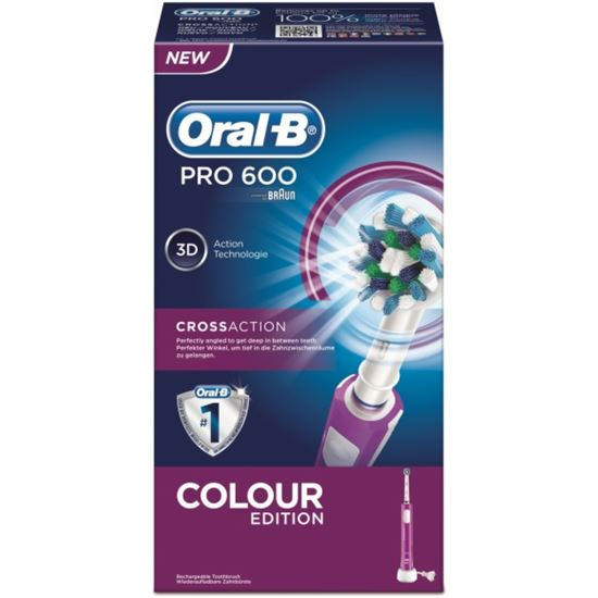 Cepillo dental Braun  PRO600MORADO Cross Action