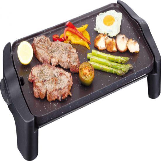 Plancha cocina Jata GR557, 2500w, 46X28, antiadhe.