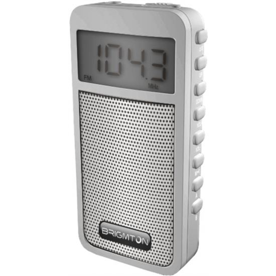 Trans. brigmton bt 126 blanco am/fm