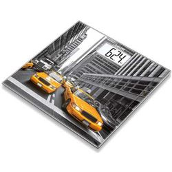 Bascula baño Cristal GS203NEWYORK Beurer, 150kg/100g, digital,gran pantall