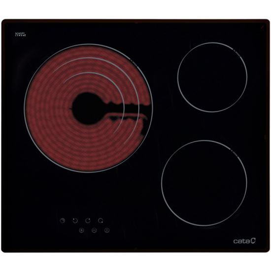 VITROCERAMICA CATA TT603 3 FUEGOS ( 08063007 )