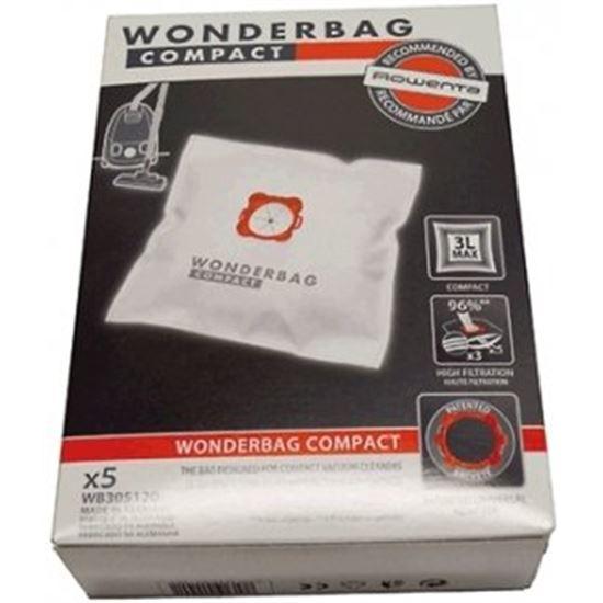 Bolsa aspirador Rowenta WB305120, la caja contien
