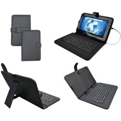 "FUNDA CON TECLADO TABLET 9"" SUNSTECH- KEY9BK"