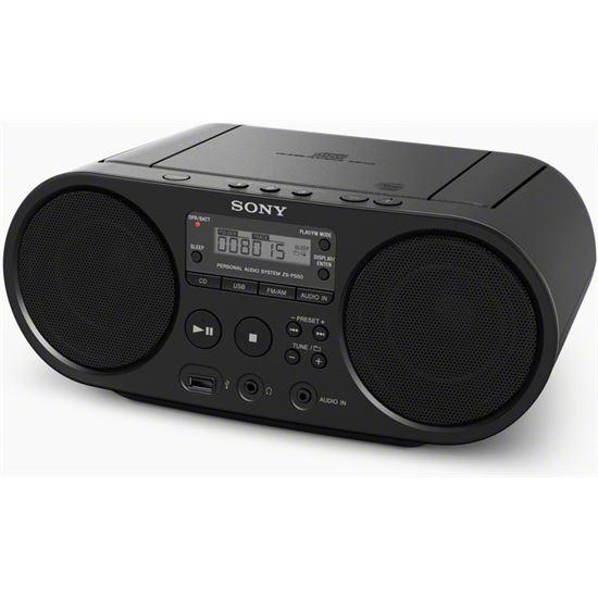 RADIO CD SONY ZSPS50BCED USB