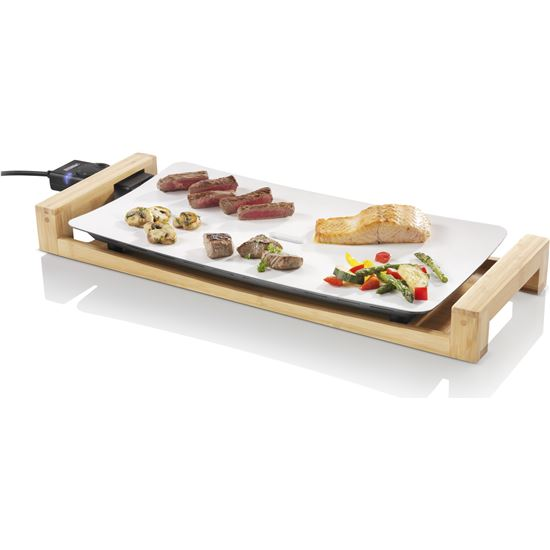 Plancha cocina Princess TABLECHEFPURE, 2500w,  50x25cm, 103030