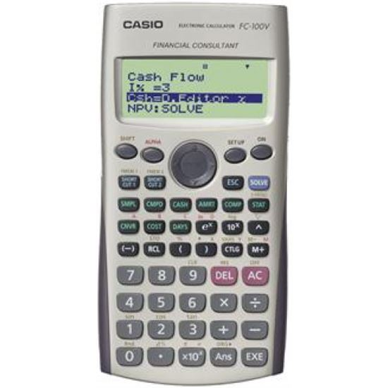 CALCUL. CASIO FC-100 V FINANCIERA BOLSILLO