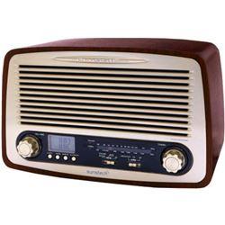 PEGASO RADIO RETRO USB WOOD RPR4000WD