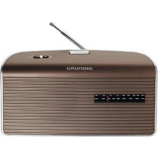 Radio portatil Grundig GRN1550 MUSIC60 MARRON