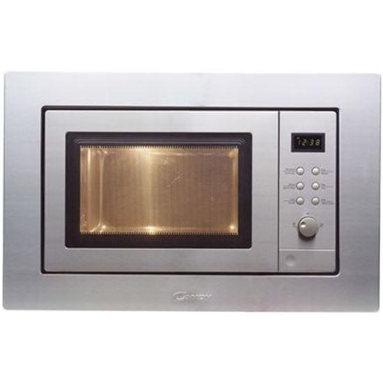 Microondas Candy MIC201EX, 20L, 800w, grill, inox