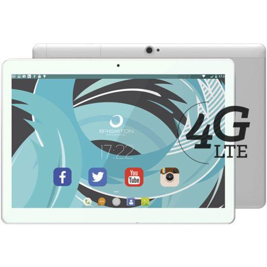 TABLET BRIGMTON BTPC-1023OC 2GB 4G 10 QUAD BLANCA