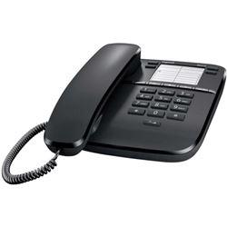 Telefono de sobremesa GIGASET DA310, negro, Tecla