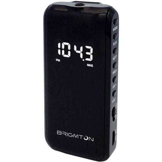 TRANS. BRIGMTON BT 24N NEGRO SD MP3 DIGITAL