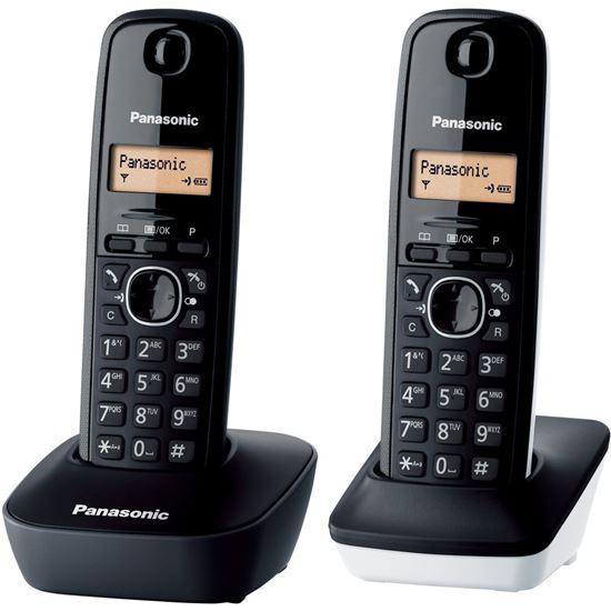 Telefono DUO Panasonic KXTG1612SP1, básico, ident