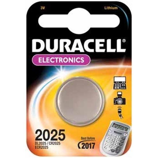 Pilas Duracell 2025, CR2025, litio, 3V, reloj, cal