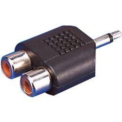 Conector jack-2rca edc blister mc05-2190