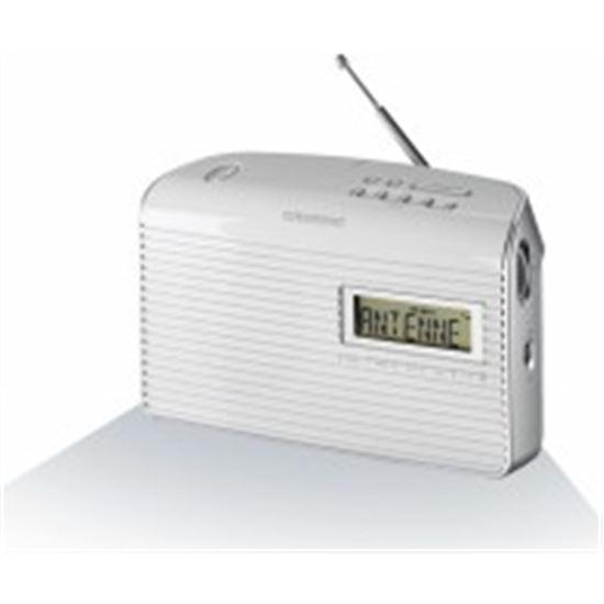 Radio portatil Grundig GRN1400 MUSIC61 music 61, blanco