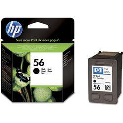 Cartucho tinta HP Nº 56 Negra C6656AE