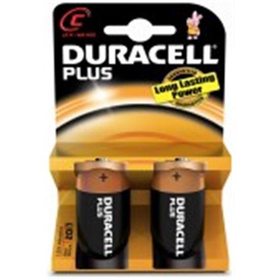 Pilas Duracell PLUSMN1400K2, LR14, alcalina, 2unid
