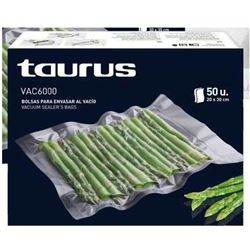 Bolsas Vacpack Taurus 999183, 50 unds. de 20x30cm