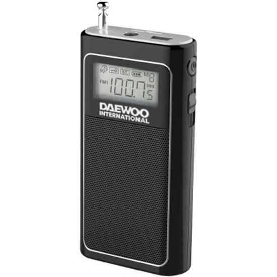 TRANSISTOR DAEWOO DRP-125 NEGRO DIGITAL MICRO SD