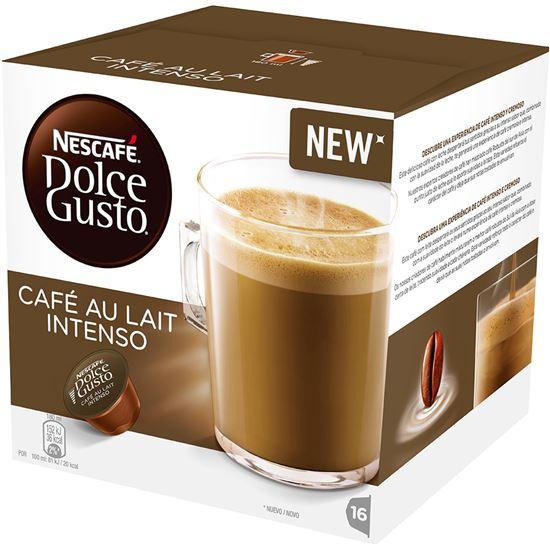 ESTUCHE DOLCE GUSTO CAFE AU LAIT INTENSO 16CAP  223714