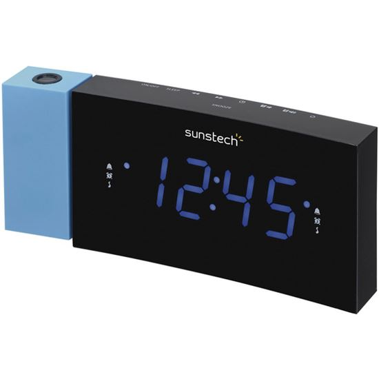 DESPERTADOR SUNSTECH FRDP3 ALARM CLOCK RADIO