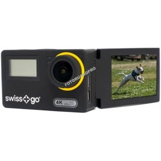 CAMARA VIDEO AVENTURA SWISS+GO SF30W 4K ABATIBLE + ACC