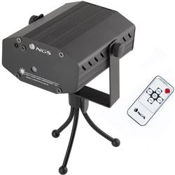 LUCES DISCO NGS SPECTRA PRISM LASER REMOTE