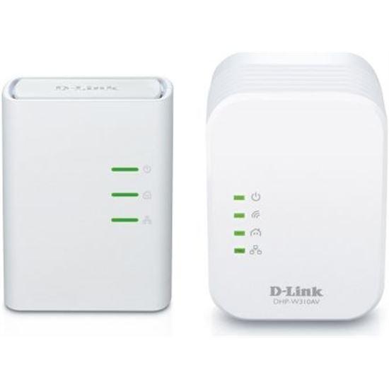 PLC / POWERLINE + REPETIDOR WIFI DLINK DHPW311AV 500MBPS