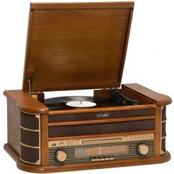 MINICADENA DENVER MCR-50 - TOCADISCOS - CD - RADIO AM/FM - CASETTE - USB GR