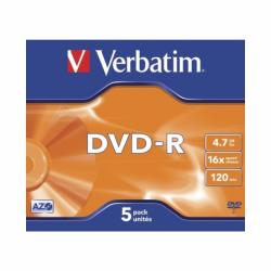 VERB-DVD-R 4.7GB 5U
