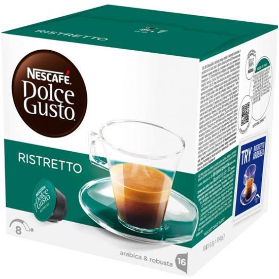 Cafe RISTRETTO DOLCE GUSTO 12213077, 16 capsulas.