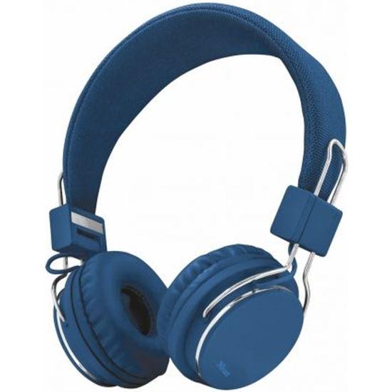 Auriculares Diadema Trust Ziva Manos Libres Azules