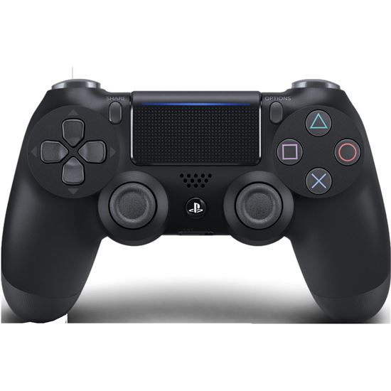DUALSHOCK CONT BLACK V2 PS4 711719870159