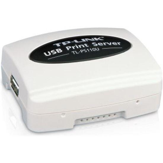 SERVIDOR DE IMPRESIÓN TP-LINK TL-PS110U - 1 X USB 2.0 - 1 X ETHERNET 10/100