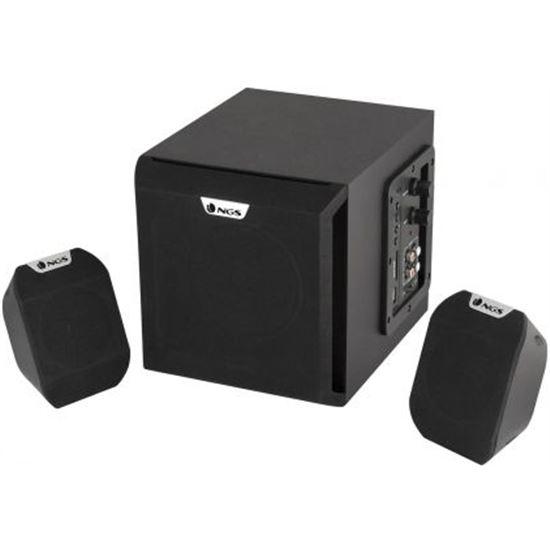 ALTAVOCES 2.1 NGS COSMOS - 72W RMS - RANURA SD/MMC - 40 HZ-150 KHZ - USB -