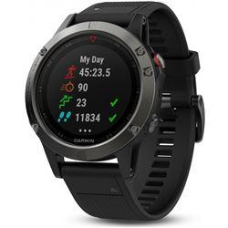 RELOJ GPS GARMIN FENIX 5 010-1688-00 GRIS NEGRO