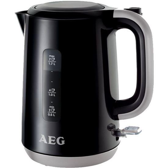 HERVIDOR DE AGUA AEG EWA3300 HOT BEVERAGE NEGRO - 1.7L