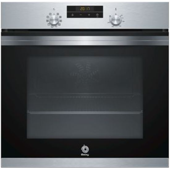 HORNO BALAY 3HB4331X0 AQUALISIS MULTIFUNCION 60CM INOX