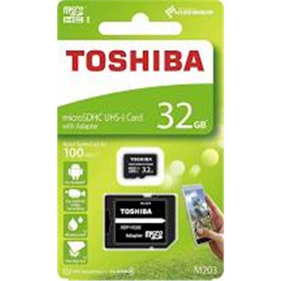 TARJ. MEMORIA TOSHIBA MICRO SD 32GB THN-M203K0132E