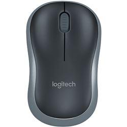 Raton Logitech 910-002235 Wireless Mouse M185 Black- Optico-Inalambrico 2,