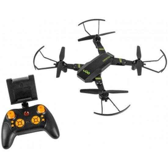 DRON UGO SIROCCO - 800MAH - CUADRICÓPTERO - ALCANCE 100M - CÁMARA HD - MICR