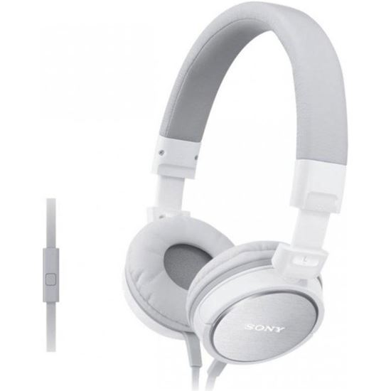 AURICULARES SONY MDRZX310APW MICRO BLANCO