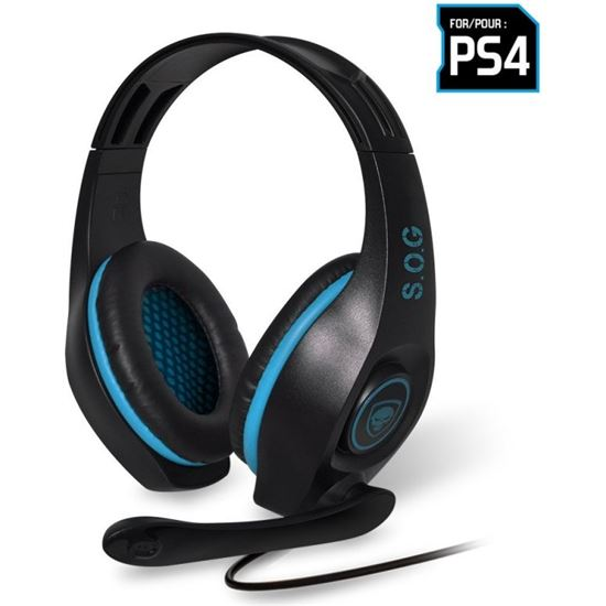 AURICULARES CON MICROFONO PARA PS4 SPIRIT OF GAMER PRO