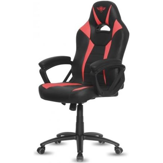 SILLA SPIRIT OF GAMER FIGHTER RED SOG_GCFRE 5RUEDAS