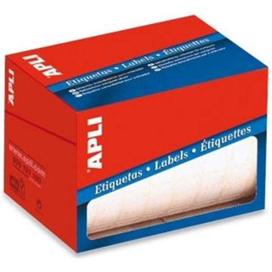 ROLLO ETIQUETAS BLANCAS PARA ESCRITURA MANUAL APLI 01683 - 16X22MM