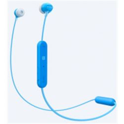 AURICULARES SONY WI-C300 BLUETOOTH BLUE